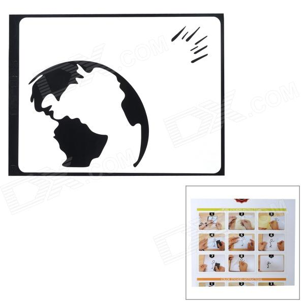 Mars Hit Earth Style Protective Decorative Sticker for MacBook 11