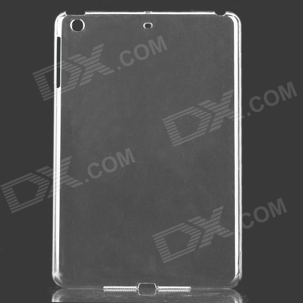 Simple Protective ABS Back Case for Retina Ipad MINI - Transparent