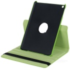 360 Degree Rotational PU Leather Smart Case w/ Stand for Ipad AIR - Green