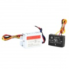 XIONGDA XD-621 Induction Touch Switch Input + Output Boxes for Bathing Light - White + Black