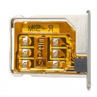 R-SIM Air Unlock SIM Card for Iphone 4S - Black + Silver + Golden (iOS 6.1.4~7.0)