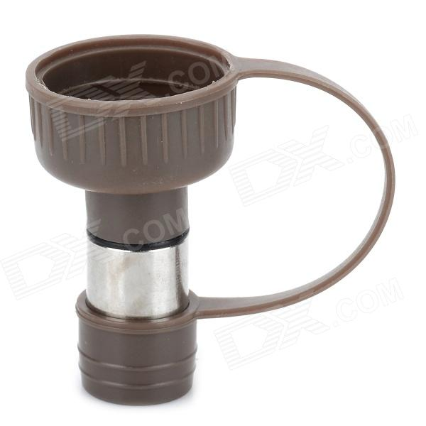 DC-102 Portable Pet's Cat Dog Drinking Nozzle - Dark Brown