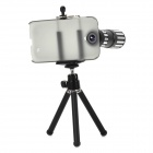 12X Telephoto + Fish Eye + Wide Angle + Macro Lens + Tripod Set for Samsung Galaxy S4 i9500 / i9508