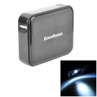 LOOHON L208 5V 5600mAh Portable Li-ion Polymer Power Bank for Iphone / HTC + More - Black