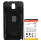 """Replacement 3.8V """"7500mAh"""" Li-ion Battery w/ Back Case for Samsung N9000 - White + Black"""