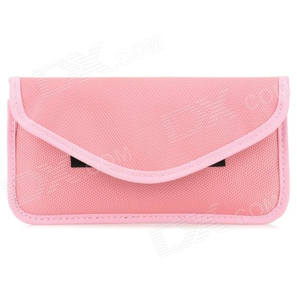 Pregnant Women's Anti-Radiation Nylon Cell Phone Pouch - Pink