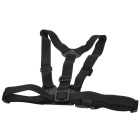 QT01 + K3 ABS + Nylon Chest Belt + Adapter + Screw for Gopro / SJ4000 - Black