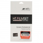 HT Soft Nano Explosion-proof Back + Screen Protectors Set for Iphone 5 / 5s - Transparent (2 PCS)