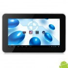 "F702 7 ""IPS Android 4.1.1 Tablet PC w / 1GB RAM / 8GB ROM / HDMI / G-Sensor - White + Black"