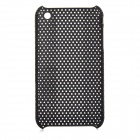 Mesh Style Protective Plastic Back Case for Iphone 3g / 3GS - Black