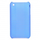 Mesh Style Protective Plastic Back Case for Iphone 3g / 3GS - Blue