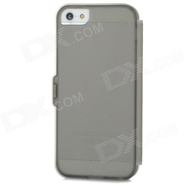 Stylish Protective Silicone Case for Iphone 5 / 5s - Grey