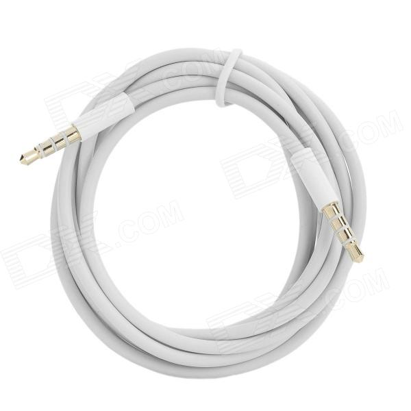 Elonbo 3.5mm Male to Male AUX Audio Cable - White (2m)
