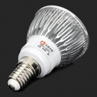 LeXing LX-SD-028 4.5W 300lm 3500K Warm White Light Spotlight - Silver + White (85~265V)