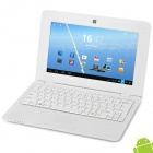 "712 10"" Android 4.2 Netbook w/ RJ45 / Wi-Fi / Camera / HDMI - White"
