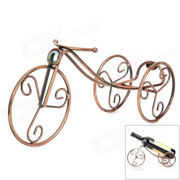 Retro Bicycle Style Iron Wine Rack - Brass hot sale european style resin phoenix wine rack high end home accessories bar wine rack wholesale