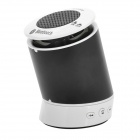 CZ-mini Multi-Function 1100mAh Rechargeable  Bluetooth v2.1 + EDR Stereo Speaker - Black + White