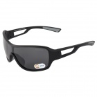 KALL O99350 UV400 Protection Outdoor Sports PC Lens Polarized Sunglasses - Black