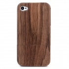 Goodlen M-i401 Protective Walnut Case for Iphone 4 / 4S - Brown