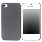 Goodlen M-i405 Protective Matte Silicone Case for Iphone 4 / 4S - Black