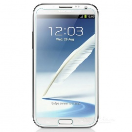 Tempered Glass Screen Guard Protector for Samsung Note 2 - Transparent