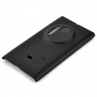 NILLKIN Protective Matte Plastic Case w/ Screen Protector for Nokia Lumia 1020 - Black