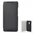 NILLKIN Protective PU Leather + PC Case for HTC 8088 One Max - Black