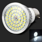 LeXing LX-SD-019 B22 6.5W 600lm 6000K 48 SMD 2835 LED White Light Spotlight - Silver + White
