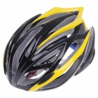TITANS CG03DG-007 Outdoor Bike Bicycle Cycling Helmet - Yellow + Black (Size-L)