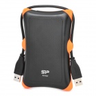 "SP A30 High Speed USB 3.0 2.5"" Mobile HDD - Black + Orange (1TB)"