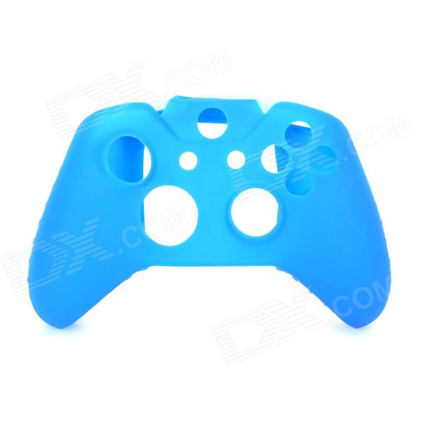 Protective Silicone Case for Xbox One Controller - Blue protective silicone cover case for xbox 360 controller yellow blue