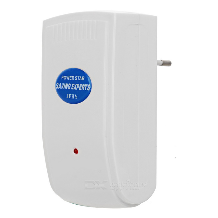 JF-002A 20000W Intelligent Energy Saving Equipment Power Saver - White (EU Plug / AC 90~250V)