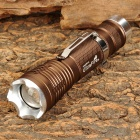 UltraFire LW-31T CREE XM-L T6 300lm 5-Mode White Zooming Flashlight - Brown (1 x 18650)