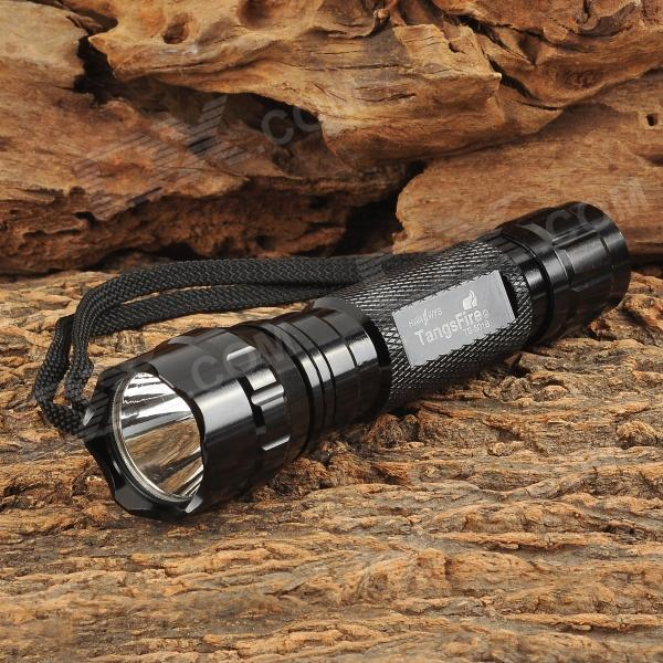 TangsFire TS-501B 600lm 5-Mode White Flashlight w/ Cree XM-L T6 - Black (1 x 18650)