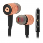 BIDENUO BIDENUO G8 Universal In-Ear Earphones w/ Microphone for Iphone / HTC / Samsung - Black