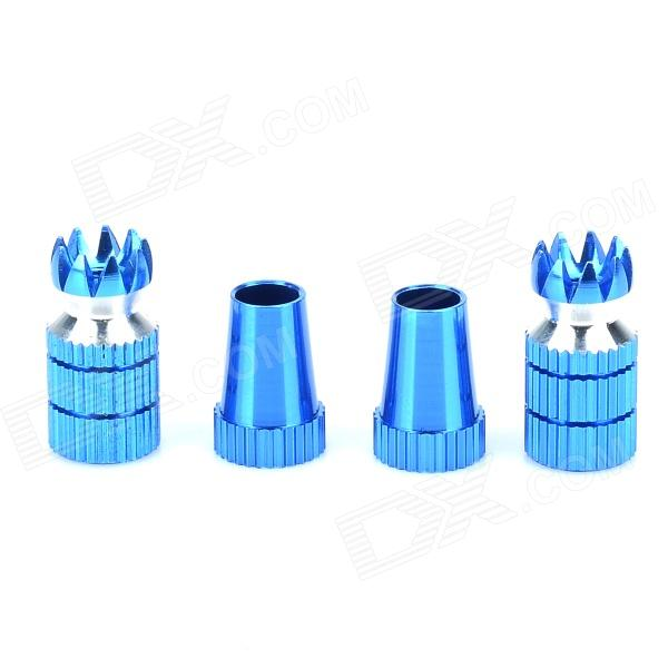 Aluminium Alloy Rocker for Futaba Walkera Remote Control - Blue (4 PCS)