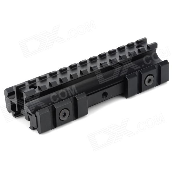 20 milímetros Picatinny Weaver Rail Scope Mount para M4 / M16 Gun - Preto