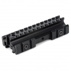 20mm Picatinny Weaver Rail Scope Mount for M4 / M16 Gun - Black