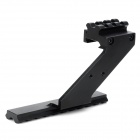 Universal Steel Scope Mount for 1911 MP2 Gun - Black