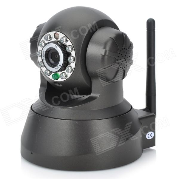 0.3MP Wireless Network Security IP Camera - Black (US Plug) - Free ...