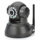 0.3MP Wireless Network Security Surveillance IP Camera w/ Night Vision - Black (US Plug)