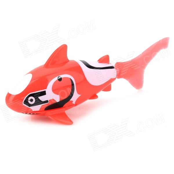 F2 Electronic Pet Fish Toy - Red + White + Black new simulation red fox toy polyethylene