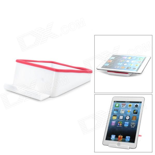 где купить Universal PP Stand Holder for Tablet PC Ipad - Red + White дешево
