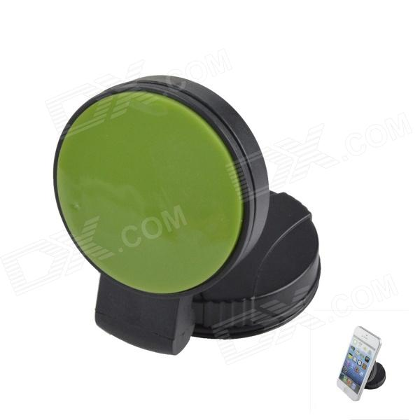 QP120 Windshield Universal Swivel Rotation Car Mount Holder for Iphone / GPS / PSP - Black + Green concept car universal windshield mount holder for iphone samsung cellphone black