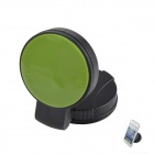 QP120 Windshield Universal Swivel Rotation Car Mount Holder for Iphone / GPS / PSP - Black + Green