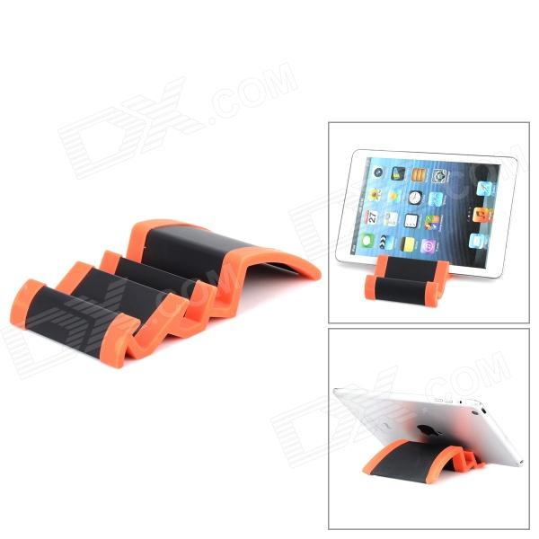 все цены на Wave Style Aluminium Alloy Stand for Ipad + Tablet PC - Black + Orange онлайн