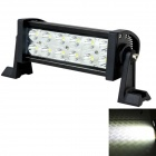 LML-B236 Combo 36W 2700lm 6000K Breite 12-LED White Light Car LED-Licht - Schwarz (DC 10 ~ 30V)