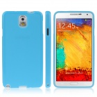 ENKAY Protective Silicon Back Case  for Samsung Galaxy Note 3 / N9000 - Light Blue