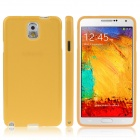 ENKAY Protective Silicon Back Case for Samsung Galaxy Note 3 / N9000 - Yellow