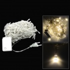 8 Mode 200 Warm White Light LED Decorative Lamp Strip for X'Mas - Translucent (AC 220V)